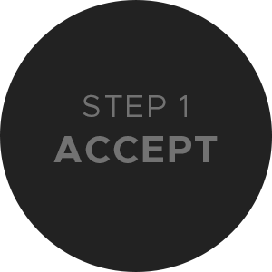 Step 1 Accept