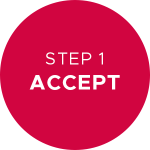 Step 1 Accept