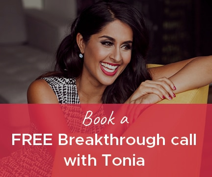 Book a FREE Breakthrough call with Tonia